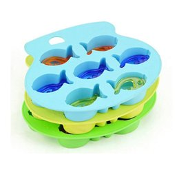 Wholesale 150pcs Hot Sale Fish Mold Silicone Ice Cube Tools Ice Cream Ice Molds Cake Mould Cooking Tools ZA0573