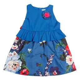 Wholesale Ball Gown Girls Clothes Brand Girls Dress Princess Party Kids Children Clothing Toddler Kids Fun