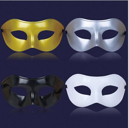 100PCSChristmas mask Venice mask masquerade party supplies plastic half face mask 4 colors, free send DHL