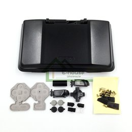 Wholesale Shell Housing Cover Case for Nintendo DS Best Quality Black Console Shell Full Sets for NDS Game