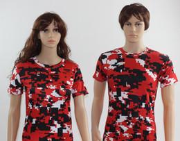 new DHL free shipping 2016 digital camo shirts compression t-shirts Digital Camouflage Camo T-Shirt Rothco Military hunting camo Style