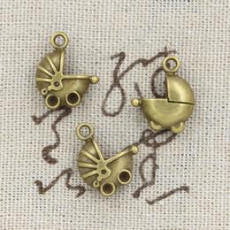 Wholesale 80pcs Charms pram baby car mm Antique Making pendant fit Vintage Tibetan Bronze DIY bracelet necklace