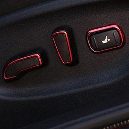 Wholesale Interior Accessories for infiniti Q50L Q70 QX50 QX60 QX70 Q50 front driver passenger seats adjust button knob decorative frame cover sticker