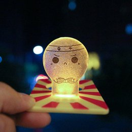 Lovely Unplugged Battery Night Light Card Light Energy Saving Creative Bedside Table Lamp Night Nightlight Small Wall