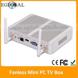 Wholesale Gaming Desktop Computer Intel Haswell Nuc Core i3 U Fanless G RAM G SSD Micro Mini PC Windows TV Box WiFi VGA HDMI