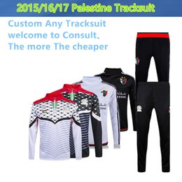 Wholesale Thai Palestine nation team tracksuit jacket Palestinia Survetement Football shirt Training clothes coat chandal sports Rugby jerseys