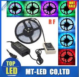 Promotion couleur de rêve magique 2017 NOUVEAU! SMD 5050 couleur Dream Strip lumière LED RGB magie bande intelligente 5M 133 Programme + Controller + RF Power adaptateur à distance