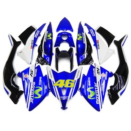 Wholesale Full Fairings Kit For Yamaha XP530 TMAX T MAX Injection ABS Plastic Motorcycle Body Kit Movistar Valentino Body Kit Fittings New