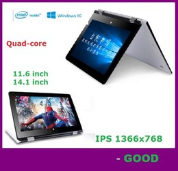 Wholesale 14 inch laptop G117 Quad core Intel GB GB Windows touch screen portable notebook computer intel hd screen DHL FREE