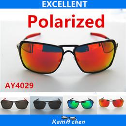Wholesale O Kamachen Polarized REVO lens Black metal frame UV400 protection sunglasses glasses men women