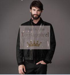 2017 chaquetas de los hombres de cera 2016 BSF 4 bolsillo encerado chaqueta de algodón tom crucero motocicleta chaqueta hombres encerado chaqueta barato chaquetas de los hombres de cera