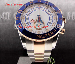 Luxury Watches Brand New II 2 TONE 18K ROSE GOLD STEEL 116681 Mens Automatic Mechanical Watch Men's Movement Wristwatches