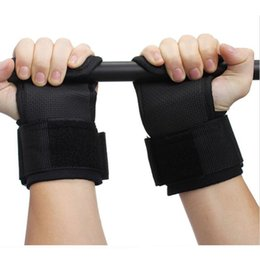 Wholesale-Weightlifting Hands Pads Wrist Wraps Gym Fitness Crossfit equipment for training Lifting Straps bilancere pad guantes ciclismo