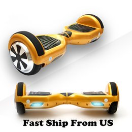 Stock in US Scooter Hoverboard Smart Balance Wheel 6.5 Inch Electric Skateboard Electric Scooters Wholesale Price Fast Shipping
