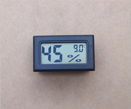 Wholesale hot sales Mini LCD Digital Thermometer Hygrometer tester Temp Gauge Temperature Meter