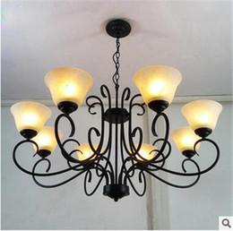 LRE037-CE UL certificate modern iron glass european chandeliers & culbe house lighting & glass restaurant decor ceiling light