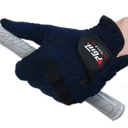 Wholesale Original PGM Brand Summer Mens Right Left Hand Golf Gloves Sweat Absorbent Microfiber Cloth Soft Breathable Abrasion Gloves