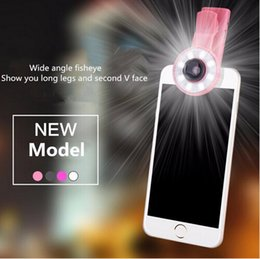 Hot 8 LED FLASH Fill light Mini Selfie Sync Flashlight for mobile phone SmartPhone