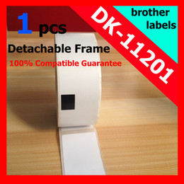 Wholesale xRolls Brother Compatible Labels dk DK x mm Address Label dk11201 Thermal paper Sticker