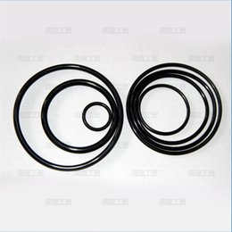 Black O-Ring Seals NBR70A ID130.18,133.35,136.53,139.7,142.88,146.05,149.23,151.77,158.12,164.47mm*C S5.33mm OR208~OR6645 AS568 Standard
