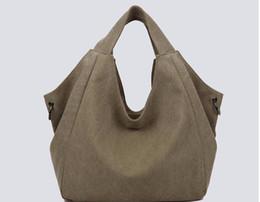Famous Brand Canvas Handbag Women Shoulder Bag Fashion Casual Canvas bags Designer High Quality Handbag Large Capacity Bag