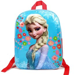 Wholesale The explosion of foreign trade frozen bag Disney kindergarten children backpack school bags factory direct sales