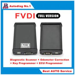 Wholesale FVDI ABRITES Commanderwith Softwares Full Set Function Diagnostic Scanner Odometer Correction Key Programmer ECU Programmer