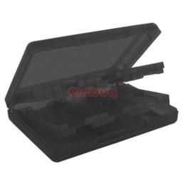 28 en 1 caso del sostenedor de la tarjeta del juego para Nintendo DSi, DS Lite, caja negra del sostenedor desde ds lite dsi fabricantes