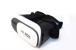 Wholesale High quality enhanced VR d glasses Head Mount VR BOX Version VR Virtual Reality D Glasses