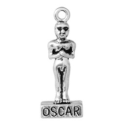 Wholesale Charm Pendants Oscar Award Shape Antique Silver mm quot x mm quot new jewelry making DIY