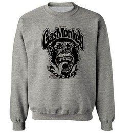 Wholesale gas monkey garage dallas texas autumn winter brand gym drake men streetwear hoodies fashion harajuku funny hip hop sweatshirt