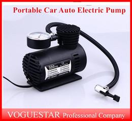 Wholesale Auto Electric Pump Air Compressor Mini V Car Auto Portable Pump Tire Inflator pumps Tool PSI ATP019