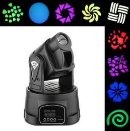 15W RGB 13CH LED DMX Mini RGB Club DJ Stage Lighting Party Moving Head for Family Party Club Pub Show