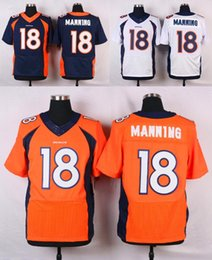 Wholesale Broncos Elite Mens Jerseys Von Miller Bell Paxton Lynch Demaryius Thomas Home Stitched Jerseys Anderson Free Drop Shipping