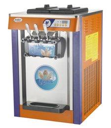 Wholesale Model MQ L18A ice cream machine tabletop ice cream machine ice cream maker capacity L H soft ice cream machine