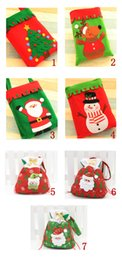 Wholesale Christmas gift bag candy book Toy Bag Christmas decoration bag Christmas Gift Sack