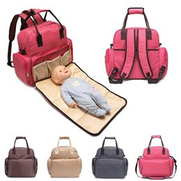 Baby Diaper Nappy Changing Mat Mother Dismountable Dual-use High Capacity Backpack Bag