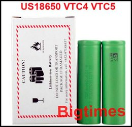 Wholesale High Quality rechargeable batteries for sony li ion battery US18650 VTC3 VTC4 VTC5 vs aa rechargeable battery