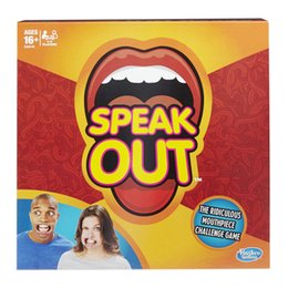 Wholesale In stock New arrivals Speak Out Game KTV party newest best selling Amusement Toys DHL