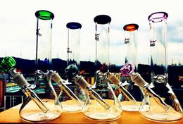 "beaker base water bong pipes bong glass bongs ice catcher thick glass for smoking 14-18 downstem 14mm bowl 10.5"""