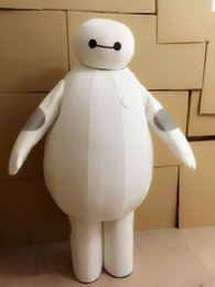 Wholesale Baymax Big Six Robot Cartoon Android Mascot Costume Adult Size Hot Sale