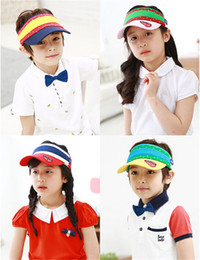 Wholesale baseball cap visor hat authentic summer children hat Baby Kids Caps Hats Boys and girls