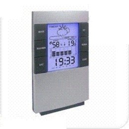 Wholesale Piece New Desktop Weather Station With LCD Clock Alarm Forecasts Graph Temperature Humidity Display