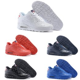 Wholesale Fashion cheap men air leather USA flag vt running shoes america flag outdoor shoes for men athletic sports shoes