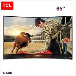 TCL 65 inches curved Edition TV, UHD Ultra HD 4K LED LCD TV, Harman Kardon stereo, Andrews smart TV