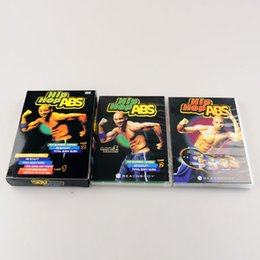 Wholesale Hip Hop ABS Fitness workout The End of Exercise hip hop dance Fitness DVD Keep Your Body Strong Workout DVDS Base Kit