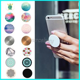 Wholesale Many Desgin Beautiful Pop Expanding Stand and Grip Card Air holder phone holder for Smartphones and Tablets Pop Bracket for Iphone Samsung
