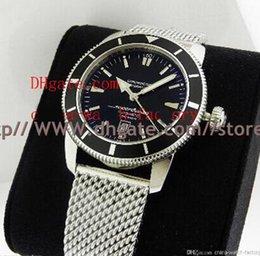 Wholesale 2016 Luxury AAA Top Quality Mens Watch Wristwatch Superocean Herie mm Black Dial a1732024 b868 Date Stainless Steel Automatic Men s Wat