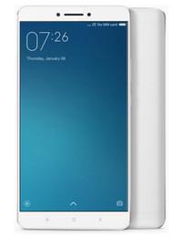 Wholesale Original Xiaomi Mi Max Inch mAh G LTE GB GB GB Snapdragon Hexa Core x1080P Fingerprint ID Smartphones