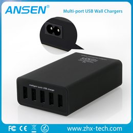 5 port usb charger five multi usb port DESKTOP TRAVEL CHARGER wall charger with cable with high quality
